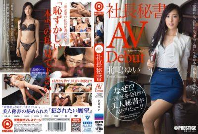 DIC-024 Rainy Day AV Debut President Secretary Yui Kitajima